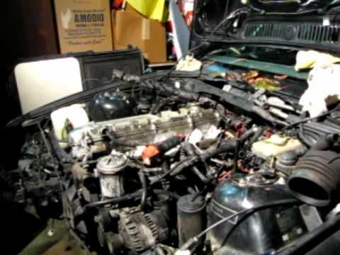 bmw e36 m50 engine removal time lapse youtube. Black Bedroom Furniture Sets. Home Design Ideas