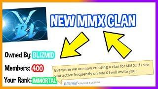HO CREATO UN CLAN PER ROBLOX MMX! (GIVEAWAY!)
