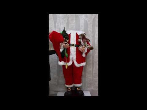37235 Musical Dancing Santa Assembly Video