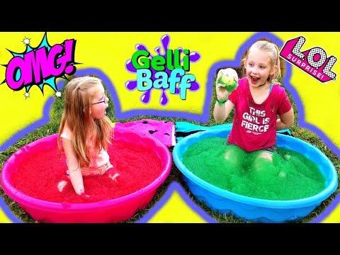 GELLI BAFF Surprise Toy Challenge!!! LOL Surprise Dolls Confetti Pop!!!