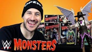 WWE MATTEL MONSTERS WRESTLING FIGURE SERIES REVIEW