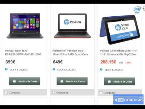 Computadoras port tiles hipercor precios youtube for Sillon para computadora precios