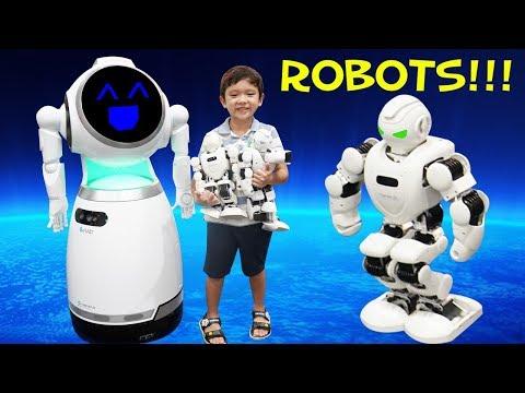 สกายเลอร์   เล่นหุ่นยนต์สุดเจ๋ง เดินได้ เต้นได้ ชกมวยได้