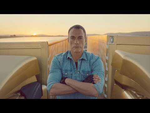 Volvo Trucks  The Epic Split feat. Van Damme Live Test
