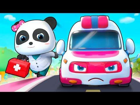 救護車出動 | 救援隊兒歌童謠 | 好習慣卡通動畫 | Baby Shark | 寶寶巴士 | 奇奇 | Learn Chinese | BabyBus