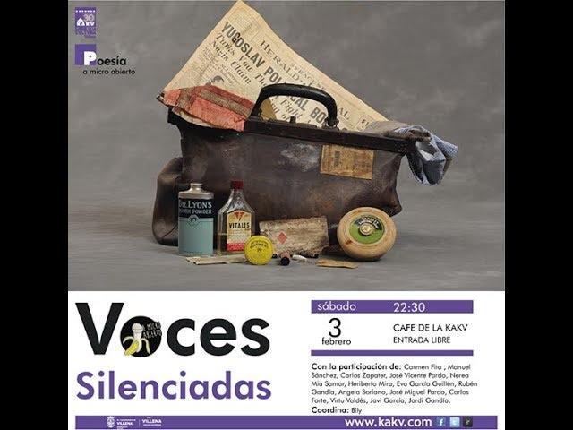 A Micro Abierto, Voces Silenciadas