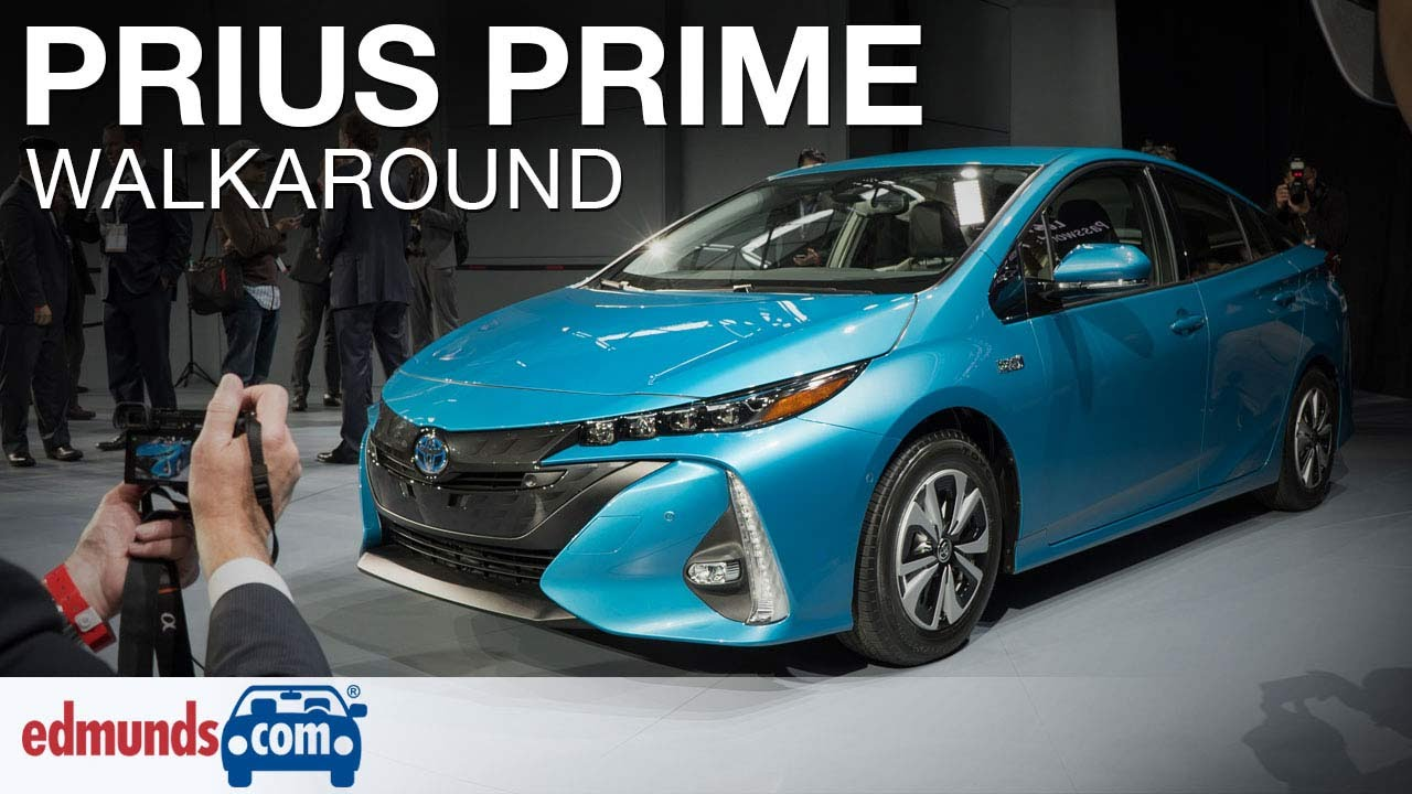 Innovative 2017 Toyota Prius Prime Walkaround Review  YouTube