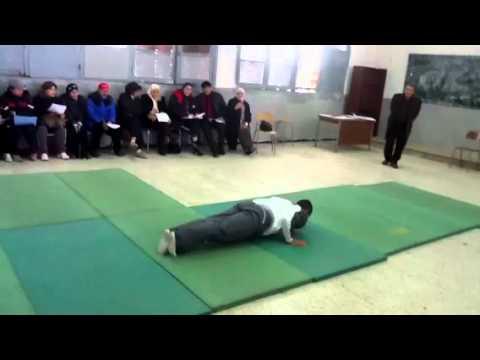 Enchainement Gymnastique Garçon