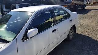 Видео-тест автомобиля Nissan Sunny ( EB14-305329 1997г)