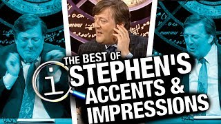 QI | Best Of Stephen's Accents & Impressions