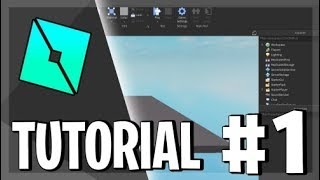 🌟 How to use ROBLOX STUDIO **WELL EXPLAINED** P.1 Tutorial in Spanish ? 2019 ? 🌟