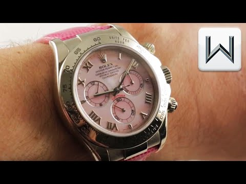 """Rolex Daytona """"Beach"""" Mother Of Pearl (116519) Luxury Watch Review"""