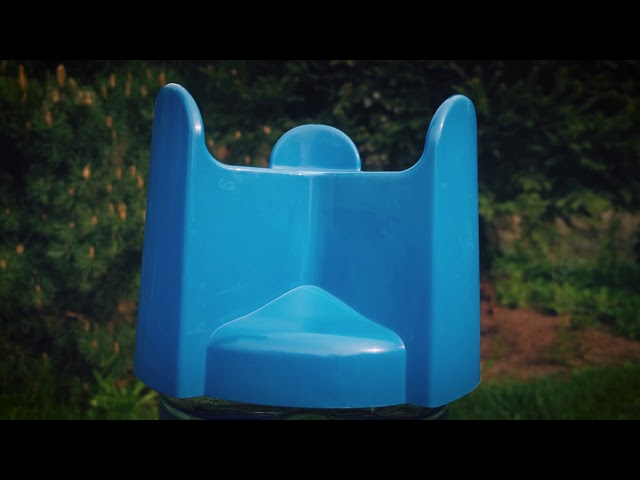 H2On - Suport pentru bidoane in pozitie verticala