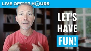 Fun Career Advice (Yes, Really Fun): Live Office Hours with Andrew LaCivita