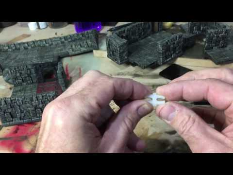 Dungeon Tile OpenLOCK clip with Rampage tiles - YouTube