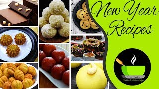 Happy New Year! New Year Recipes |  8 Delicious Recipes To Welcome New Year 2019