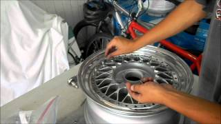 Refinishing 3 Piece Wheels - Assembly