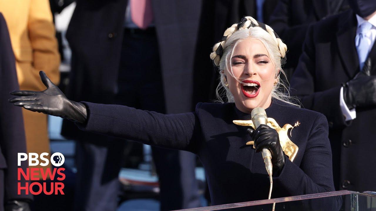 Download WATCH: Lady Gaga sings 'The Star Spangled Banner' at Biden inauguration