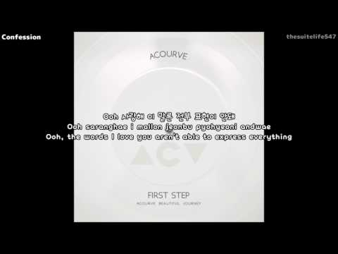 Acourve - Confession (Hangul, Romanization, Eng Sub)