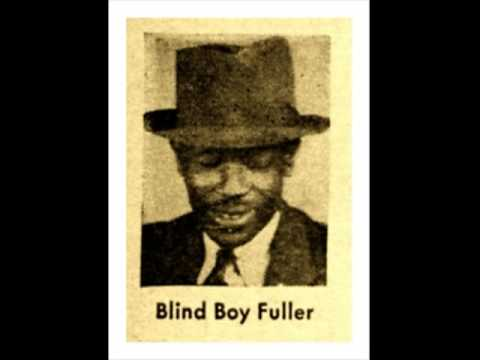 'Jesus Is A Holy Man' BLIND BOY FULLER, Ragtime Blues Guitar Legend