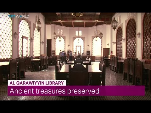 Showcase: The Moroccan Al Qarawiyyin Library