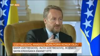 Aliya İzzetbegoviç Bosna'yı Erdoğan'a Emanet Etti - TRT Avaz Haber