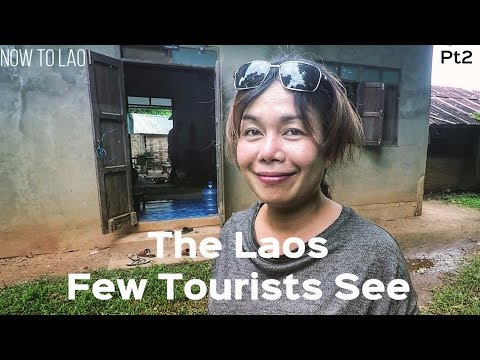 Traditional Lao Family Sunday Pt2 - Life in Laos - The Laos Few Tourists See - Lao Farm Lifestyle