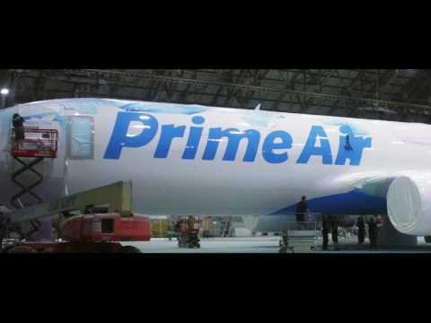 Amazon Takes Flight: Company's First Air Cargo Plane ...