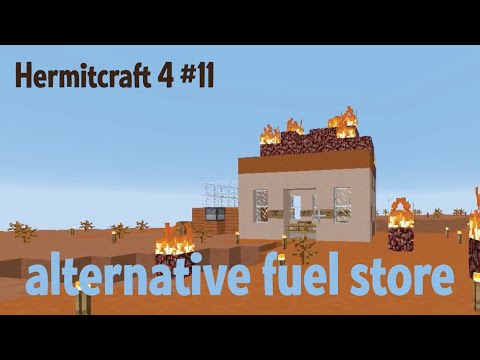 Alternative fuel store — Hermitcraft ep. 11