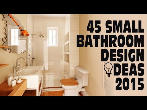 45 small bathroom design ideas 2015 youtube for Small bathroom design apartment therapy