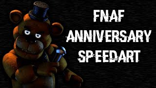 [SFM Speedart] FNaF's 4th Anniversary (FILLER)