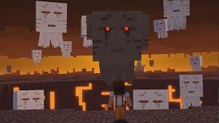 BORBA PROTIV TROGLAVOG GHASTA!!!- Minecraft Story Mode Episode 3 (FINALE)