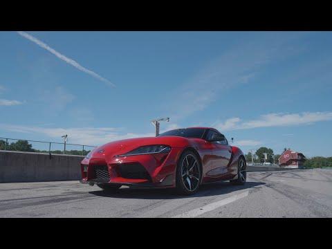 Toyota Supra at Lightning Lap 2019