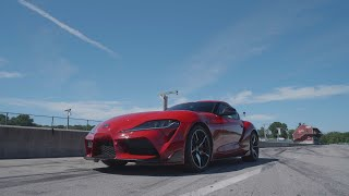 homepage tile video photo for Toyota Supra at Lightning Lap 2019