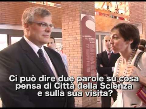 S.E. Naor Gilon, Ambasciatore Di Israele In Italia In Visita A Città Della Scienza