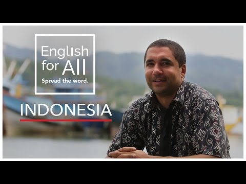 A Day In The Life of A Fellow - Indonesia #EnglishForAll