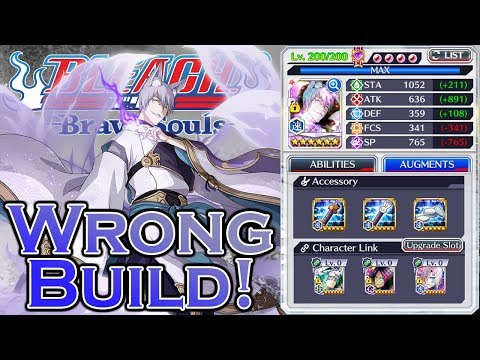 Bleach Brave Souls Wrong Build: Gin NAD (Spooks Ver.)