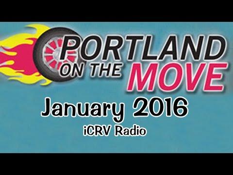 Portland On The Move, January 2016 Edition, iCRV Radio