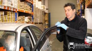 How to Fit Wind Deflectors to Your Ford Focus - From MicksGarage.com