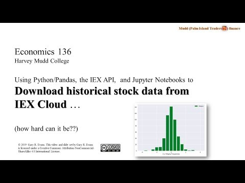 Downloading Free Stock And ETF Data From IEXCloud