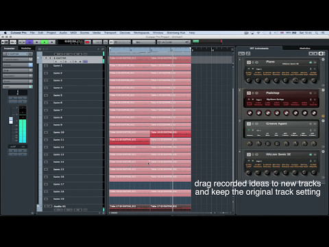 Creative Tracking, VST Amp Rack and Vocal Recording | Make Music with Cubase Pro 8