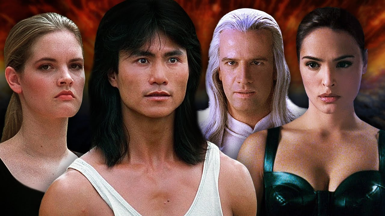 Mortal Kombat Then And Now Youtube