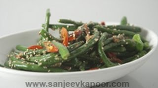 Green Beans With Sesame Chilli Sauce