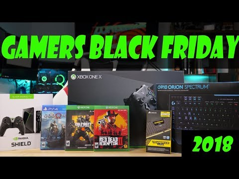 Top 10 Deals for Gamers - Black Friday 2018 Guide