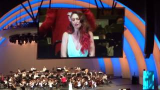 Sara Bareilles as Ariel - Part Of Your World Reprise (Little Mermaid Live at Hollywood Bowl 6/4/16)
