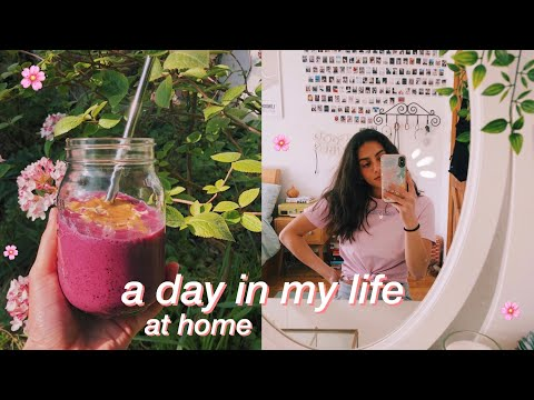 a day in my life at home 🏡 studying, working out & baking!