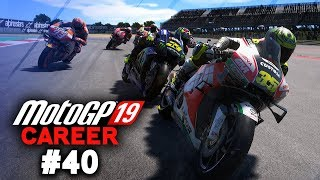 FIGHTING ROSSI FOR THE ARGENTINA WIN | MotoGP 19 Career Mode Part 40 (MotoGP 2019 Game PS4 Gameplay)