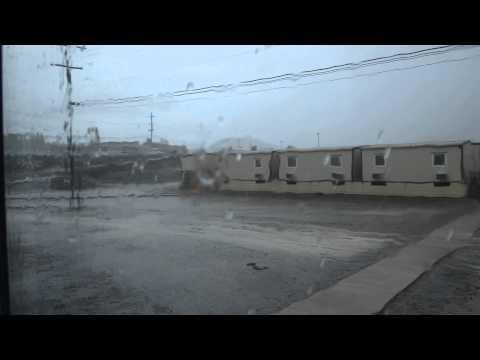 Rain in Guantanamo Bay, Cuba