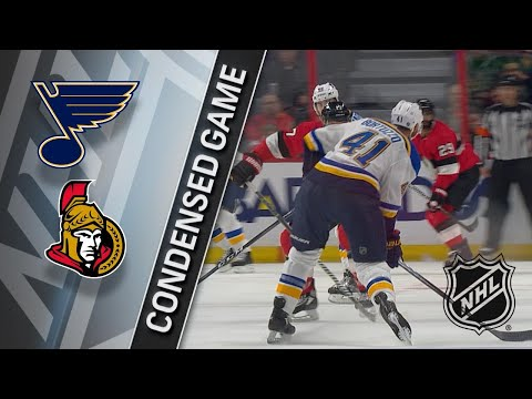 01/18/18 Condensed Game: Blues @ Senators