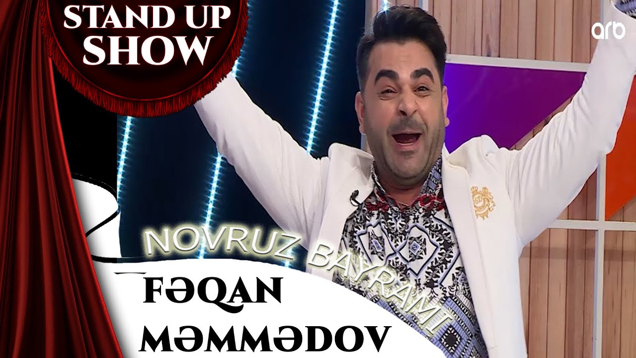Feqan Memmedov - Novruz bayrami haqqinda cox gulmeli stand up ARB TV